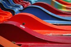 färgade fartyg Royaltyfri Foto
