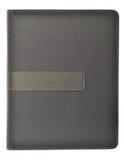 Färgade grå färg noterar bokar Royaltyfri Foto