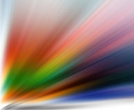 färgade ljusa strålar Royaltyfria Bilder