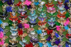 Färgade maskeringar Royaltyfria Foton