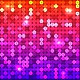 Färgade paljetter Arkivbild