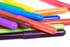 färgade softspetsar fotografering för bildbyråer
