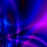 färgade strålar Arkivfoto