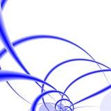 färgade waves Arkivbild