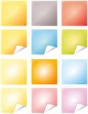 färganmärkningar Arkivbilder