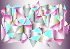 Färgar och formar Arkivfoto