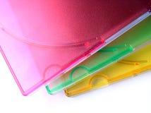 Färgar och täcker samling 16 Arkivfoto