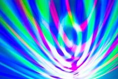 färgat abstrakt begrepp fodrar ljus Royaltyfri Bild