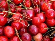färgat Cherry Arkivfoton