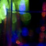 Färgat exponeringsglas Arkivfoto