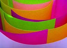 färgat foliaspapper royaltyfria foton