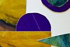 färgat mång- papper Arkivfoton