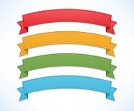 Färgbanduppsättning Arkivbild