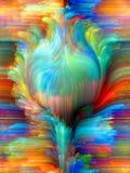 Färgblomma Arkivbilder