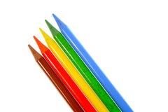 färgblyertspenna stock illustrationer