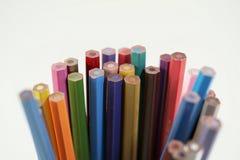 färgblyertspenna Royaltyfria Bilder