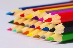 Färgblyertspenna Royaltyfria Foton