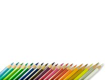 färgblyertspenna Royaltyfri Bild