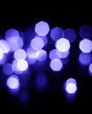 FärgBokeh ljus Fotografering för Bildbyråer