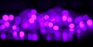 FärgBokeh ljus Arkivbilder