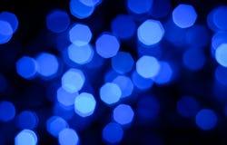 FärgBokeh ljus Royaltyfri Fotografi