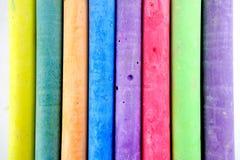 Färgchalks Arkivfoto