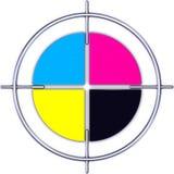Färgcirkel vektor illustrationer