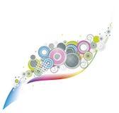 Färgcirklar Royaltyfri Foto