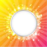 Färgdesignmall Royaltyfria Bilder