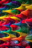 Färgdesignpinnar Royaltyfri Foto