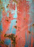 Färgen av metallen Royaltyfria Bilder