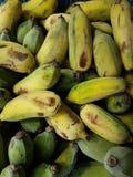 Färger av bananer Arkivfoto