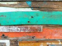 Färger av gammalt trä Fotografering för Bildbyråer