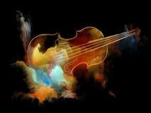 Färger av melodi vektor illustrationer