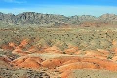 Färger av Nevada royaltyfri fotografi
