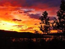 Färger av norden Royaltyfri Fotografi