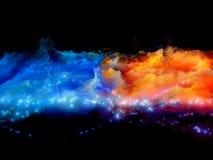 Färger av skapelsen Arkivfoto