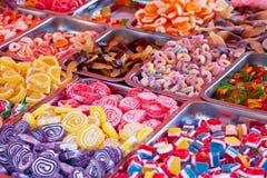 Färger av socker arkivfoto
