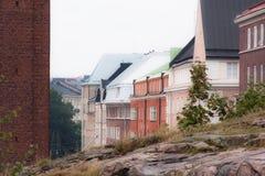 Färger av staden Arkivbilder