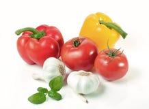 Färger av sunt äta - materielbild Arkivfoton
