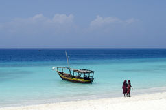 Färger av Zanzibar Royaltyfria Foton