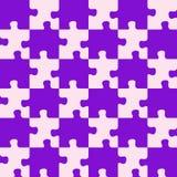 färger blandade det purpura pussel Royaltyfri Fotografi