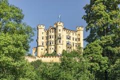 Färger för slottHohenschwangau höst Royaltyfri Bild