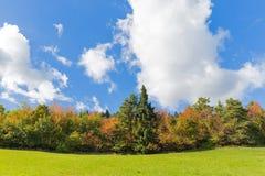 Färger i molnen Arkivbilder