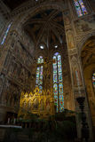 Färger och skönhet av basilikadina Santa Croce arkivfoto