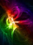 färger plaskar Arkivfoton