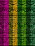 Färger Pole för abstrakt begrepp fyra Arkivbilder