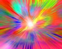 färger som enlightening Arkivbilder