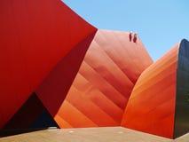 Färgerna av det australiska museet Arkivbild