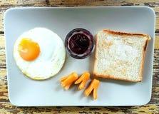 Färgerna av frukosten Fotografering för Bildbyråer